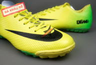 Giày đinh dăm Nike Mercurial Vapor IX TF Xanh Vàng tai ha noi. Random