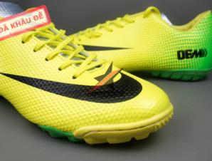 Giày đinh dăm Nike Mercurial Vapor IX TF Xanh Vàng_big_1