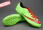 Giày bóng đá sân cỏ Nike Mercurial V TF Xanh Đỏ ( Hàng VN) gia re tai ha noi. xem nhieu