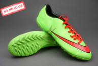 Giày bóng đá sân cỏ Nike Mercurial V TF Xanh Đỏ ( Hàng VN) gia re. Xem nhieu