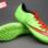 Giày bóng đá sân cỏ Nike Mercurial V TF Xanh Đỏ ( Hàng VN) gia re. Moi nhat