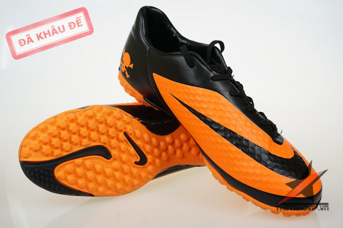 san pham dac biet giay dinh dam tf giay da banh nike  Nike Hypervenom Phelon TF cam 10 Giày đá banh sân cỏ nhân tạo Hypervenom Phelon Cam TF