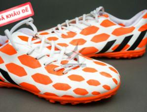 Giày đá bóng Adidas Predator TF Cam Trắng_big_1