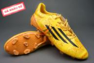 Giày bóng đá F50 Messi Vàng FG (Đã khâu đế) tai ha noi. Random