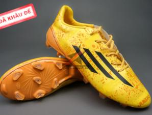 Giày bóng đá F50 Messi Vàng FG (Đã khâu đế)_big_0