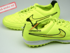 Giay da banh sân cỏ Nike Tiempo Legend V TF vàng_big_2