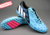 Giày bóng đá Predator Absolado xanh đen TF gia re. Random