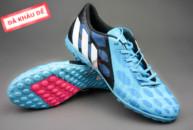giay predator, Giày bóng đá Predator Absolado xanh đen TF