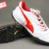 Giày bóng đá Puma 2 màu đỏ trắng TF new_small_0
