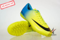 ao lot the thao, Giay da banh Nike Mercurial Vapor Superfly IX TF Vàng