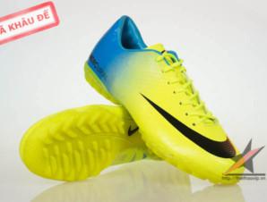 Giay da banh Nike Mercurial Vapor Superfly IX TF Vàng_big_0