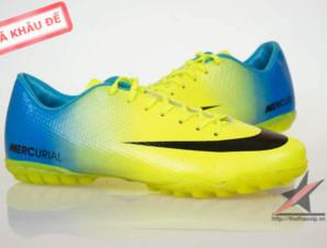 Giay da banh Nike Mercurial Vapor Superfly IX TF Vàng_big_1