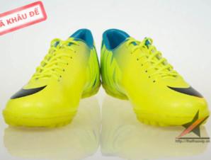 Giay da banh Nike Mercurial Vapor Superfly IX TF Vàng_big_2