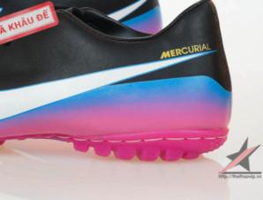 Giày đá banh Nike Mercurial Victory III CR TF Đen Tím_big_3