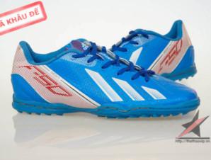 Giày đá banh Adidas adizero f50 TF Xanh 1_big_1