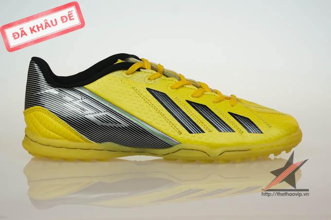 giay dinh dam tf giay bong da adidas  giay da bong san co nhan tao 07386 Giày bóng đá Adidas adizero f50 TF Vàng