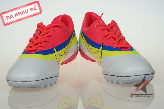 san pham feature giay dinh dam tf giay da banh nike  giay da bong san co nhan tao 07653 Giày đá banh Nike Mercurial CR New TF Da cam