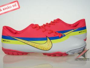 Giày đá banh Nike Mercurial CR New TF Da cam_big_2