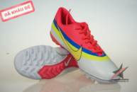giay da banh nike, Giày đá banh Nike Mercurial CR New TF Da cam