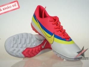 Giày đá banh Nike Mercurial CR New TF Da cam_big_0