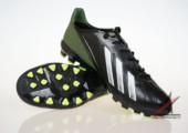 Giày đá banh Adidas adizero f50 AG đen xanh gia re. Random