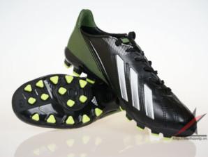 Giày đá banh Adidas adizero f50 AG đen xanh_big_0