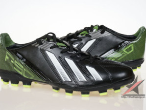 Giày đá banh Adidas adizero f50 AG đen xanh_big_2