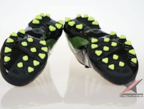 Giày đá banh Adidas adizero f50 AG đen xanh_big_3