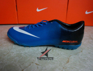 Giày đá banh Nike Mercurial Vapor Superfly IX TF Xanh_big_2