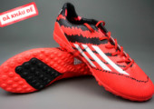 Giày đá banh F10 Adizero TF Đỏ Đen gia re. Random
