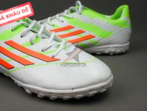 Giày đá bóng F10 Adizero TF Trắng Xanh_big_1
