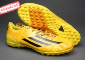 Giày bóng đá F50 Messi TF vàng gia re. Random