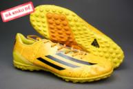 Giày bóng đá F50 Messi TF vàng tai ha noi. Random