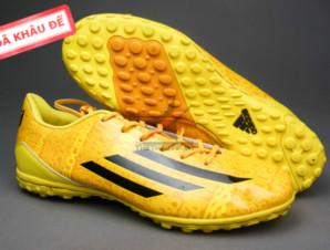 Giày bóng đá F50 Messi TF vàng_big_0
