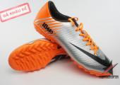 Giày đá bóng Mercurial IX 10M Worldcup 2014 trắng cam gia re. Random