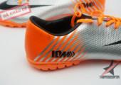 Giày đá bóng Mercurial IX 10M Worldcup 2014 trắng cam gia re tai ha noi. xem nhieu