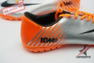 Giày đá bóng Mercurial IX 10M Worldcup 2014 trắng cam tai ha noi. Random