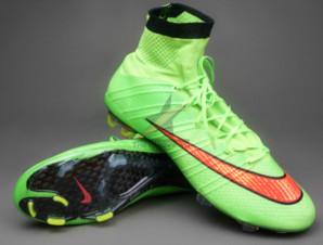 Giày bóng đá Mercurial Superfly IV FG Xanh_big_0