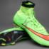 Giày bóng đá Mercurial Superfly IV FG Xanh_small_0