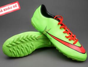 Giày bóng đá sân cỏ Nike Mercurial V TF Xanh Đỏ ( Hàng VN)_big_0