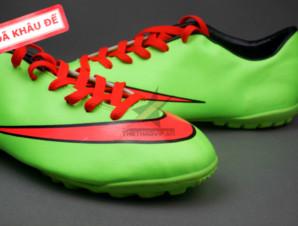 Giày bóng đá sân cỏ Nike Mercurial V TF Xanh Đỏ ( Hàng VN)_big_1