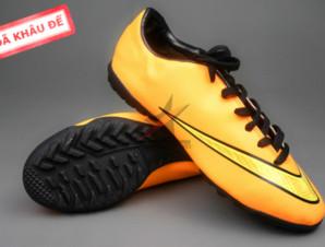 Giày đá banh Nike Mercurial V TF Vàng (Hàng VN)_big_0