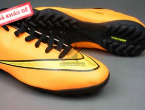 Giày đá banh Nike Mercurial V TF Vàng (Hàng VN)_big_1