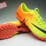 Giay da banh Nike Mercurial TF Vàng Cam tại giày đá banh sân cỏ