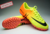 Giay da banh Nike Mercurial TF Vàng Cam