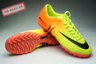 Giay da banh Nike Mercurial TF Vàng Cam tai ha noi. Random
