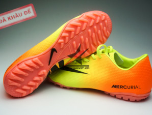 Giay da banh Nike Mercurial TF Vàng Cam_big_3