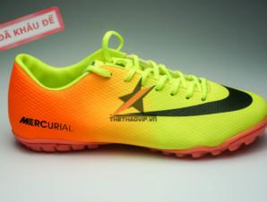 Giay da banh Nike Mercurial TF Vàng Cam_big_0