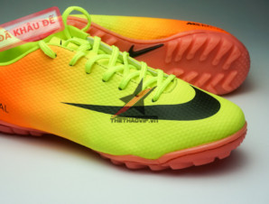 Giay da banh Nike Mercurial TF Vàng Cam_big_1