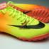 Giay da banh Nike Mercurial TF Vàng Cam_small_1